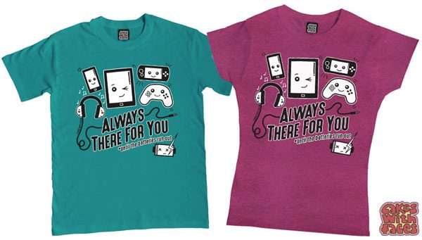 kawaii gaming tshirts