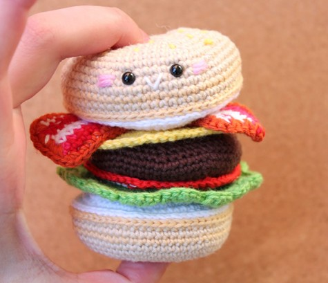 Amigurumi Fast Food : Free Amigurumi Food Patterns - Super Cute Kawaii!!