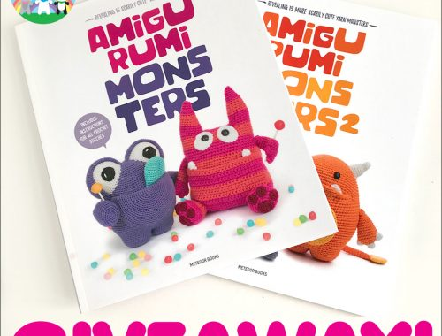 Amigurumi Monsters Kawaii Crochet Books Giveaway