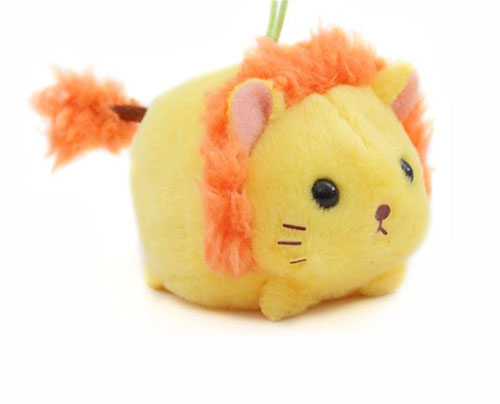 amuse kawaii lion plush charm