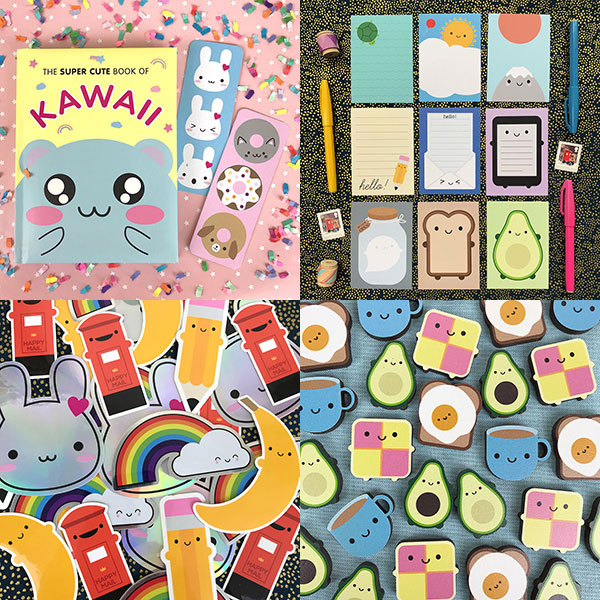 asking for trouble kawaii stationery