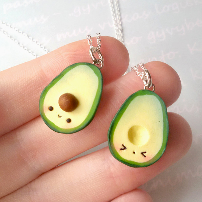 Kawaii avocados super cute kawaii for Cute diys to sell