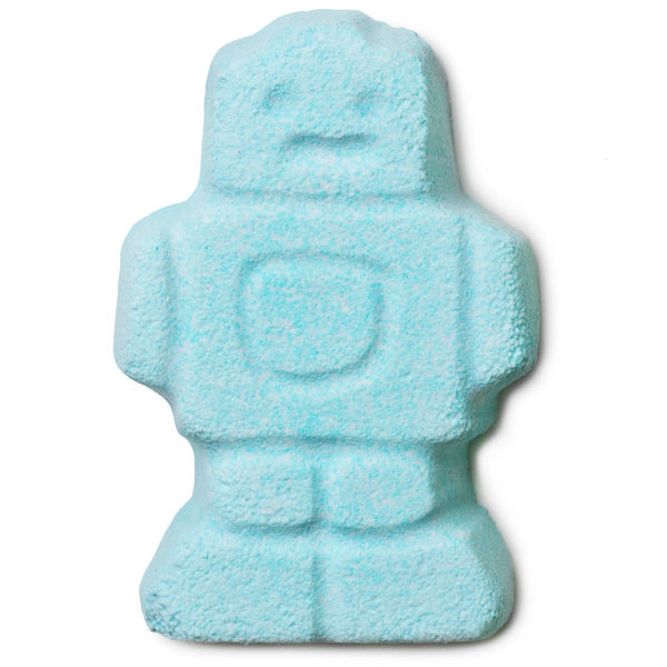 cute robot bath bombs