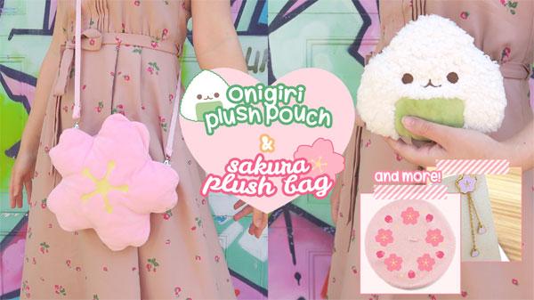 kawaii plush bags