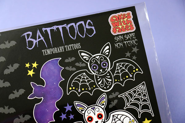 battoos halloween temporary tattoos