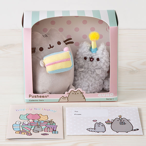 Birthday Pusheen and Stormy Collector Set