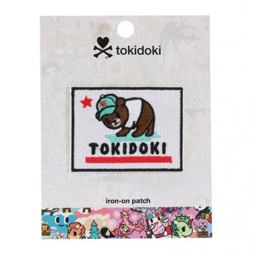 tokidoki California Dreamin' bear patch
