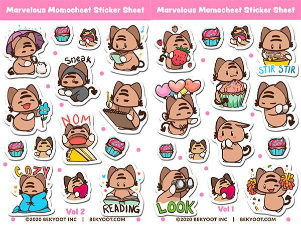 BeKyoot kawaii stickers