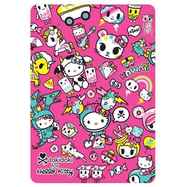 tokidoki x Hello Kitty kawaii throw blanket