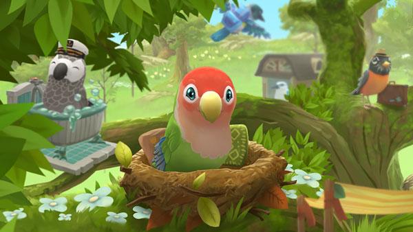 kawaii mobile games - Bird BnB