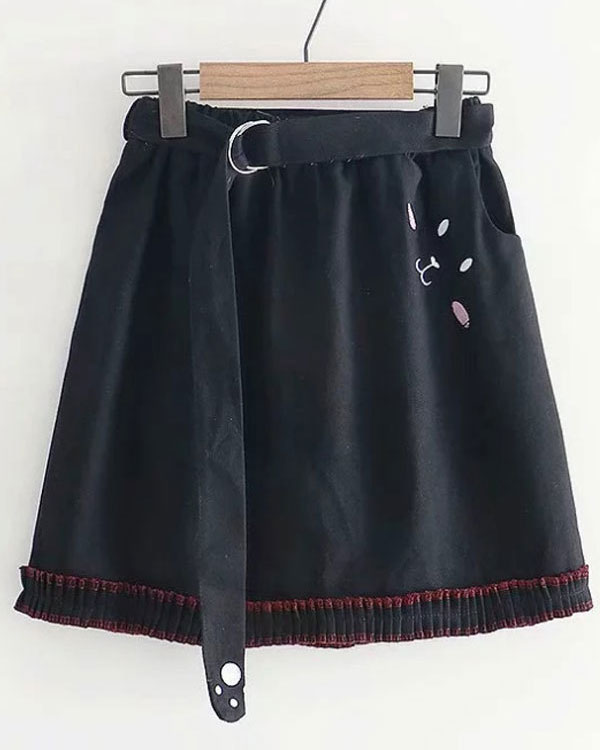 Halloween Clothing - cat skirt