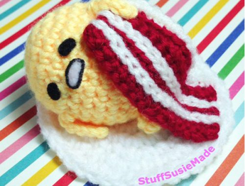 Kawaii Gudetama DIY Crafts amigurumi crochet pattern