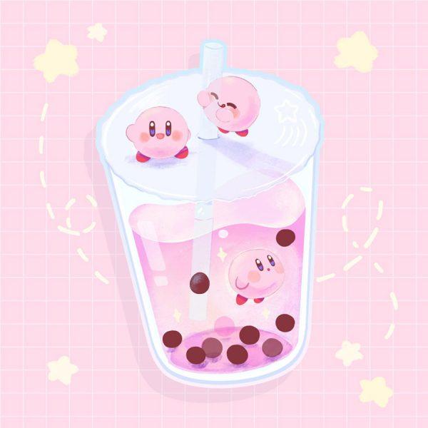 Kawaii Bubble Tea Sticker