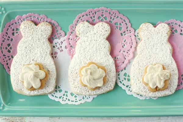 easter bunny vegan sugar cookie recipe