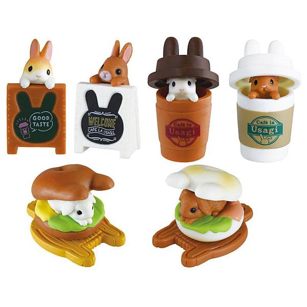 kawaii bunny gachapon toys