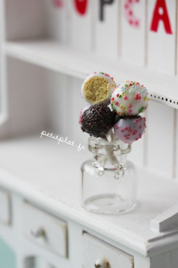 cake pops earrings