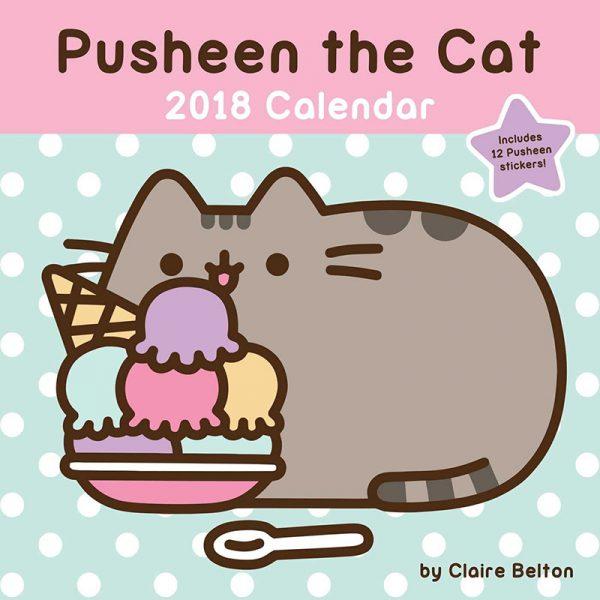 Pusheen 2018 Calendars