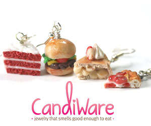 CandiWare - scented miniature food jewelry