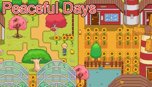 Peaceful Days kawaii game