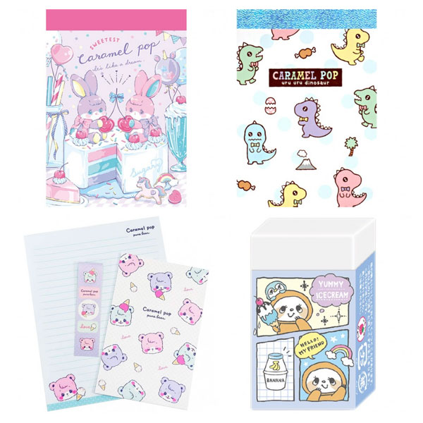 crux kawaii stationery