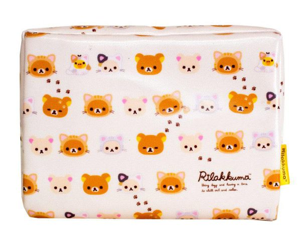 kawaii wish list - rilakkuma zipper pouch