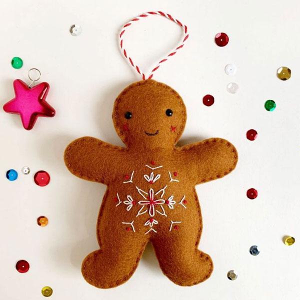 free Christmas felt sewing patterns