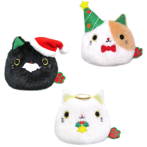 christmas neko dango plush