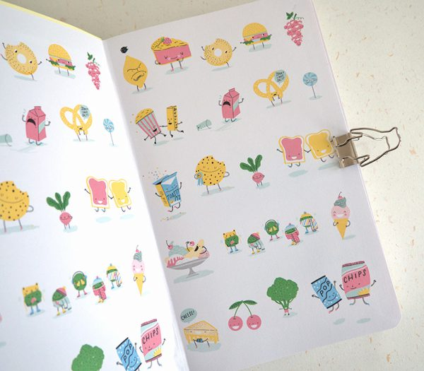 Celebrate Today bullet journal and stickers review