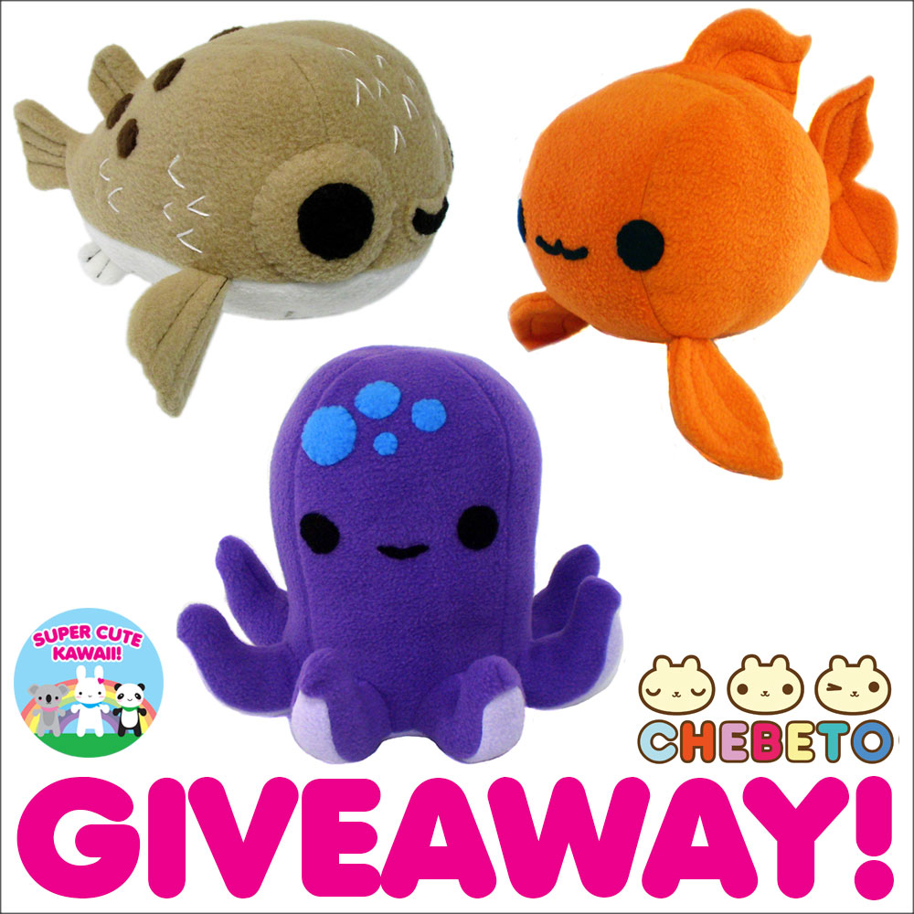 chebeto aquatic plush giveaway