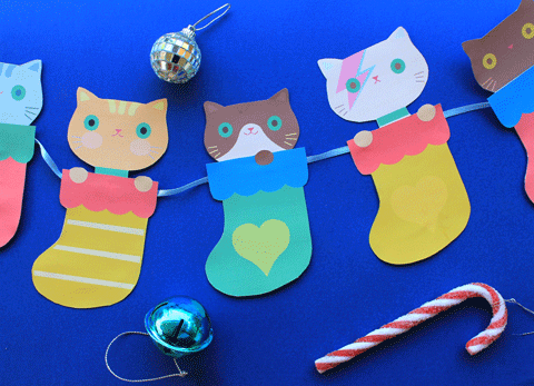christmas-kittens-diy-printable-template