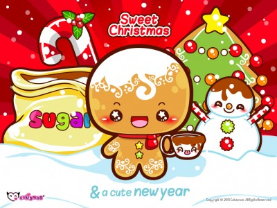 Have a Sweet Christmas! - Super Cute Kawaii!!