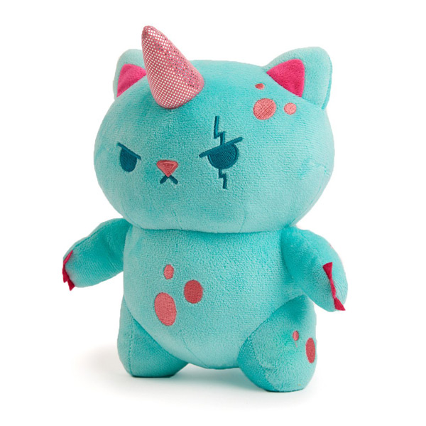 kaiju kitty kawaii plush