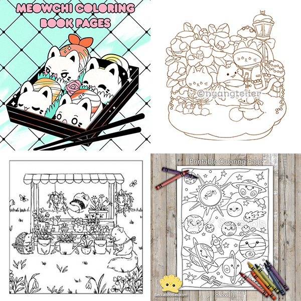 10 free colouring pages to keep the kids busy | 600x600