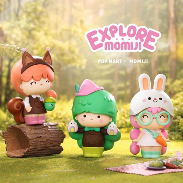 Momiji x Pop Mart vinyl figures
