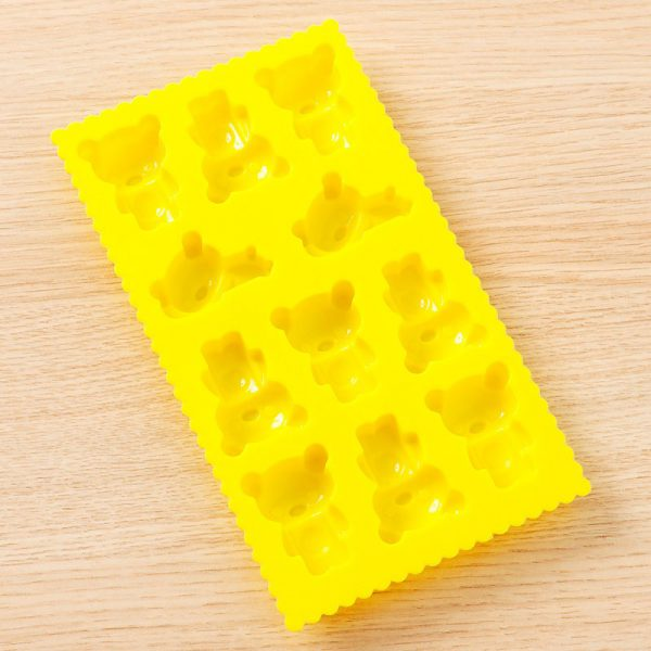rilakkuma ice cube tray