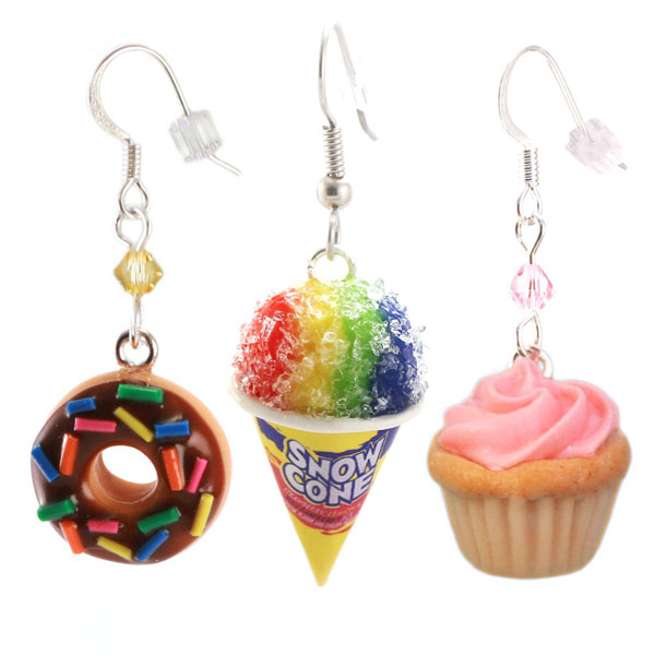 handmade scented kawaii earrings