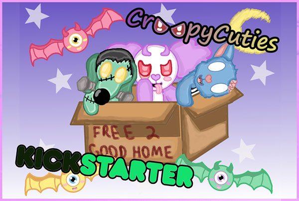 creepy cuties plush