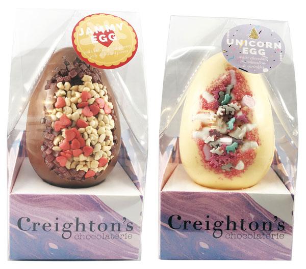 Creighton's Easter Chocolate