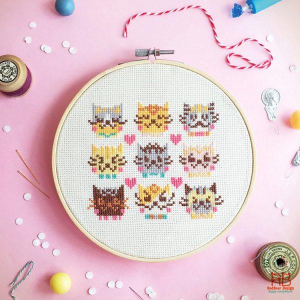 Cute Cross Stitch Patterns - Super Cute Kawaii!!