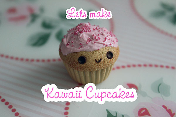 Let's make kawaii cupcakes