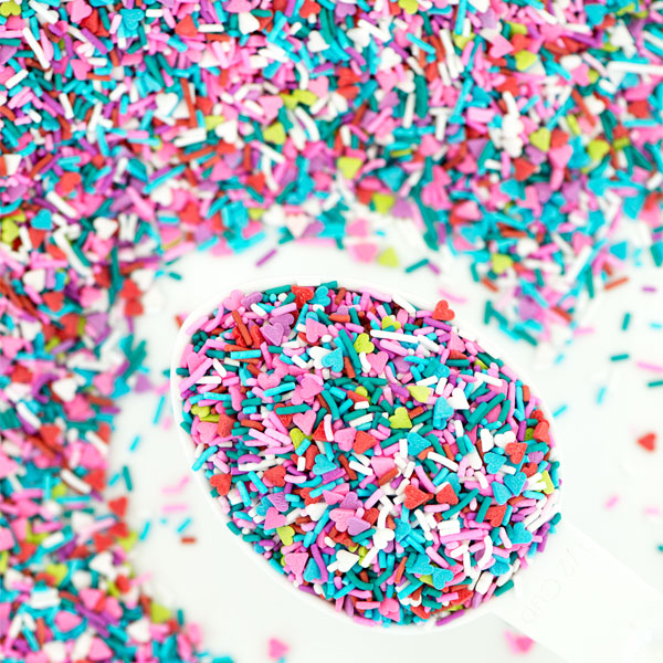 vegan rainbow sprinkles