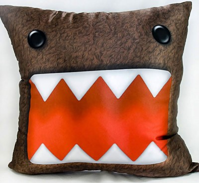 domo kun wallpaper. of a Domo-kun cushion?