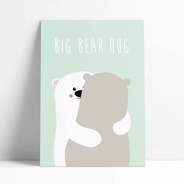 kawaii bears postcards