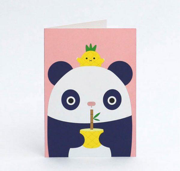 kawaii panda cards