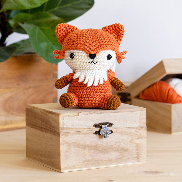 kawaii fox free crochet patterns