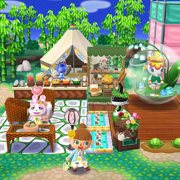 cute mobile games - Animal Crossing Pocket Camp