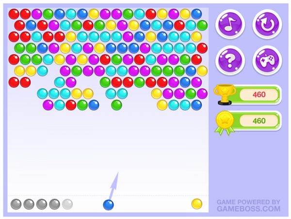 cute mobile games - Bubble Shooters