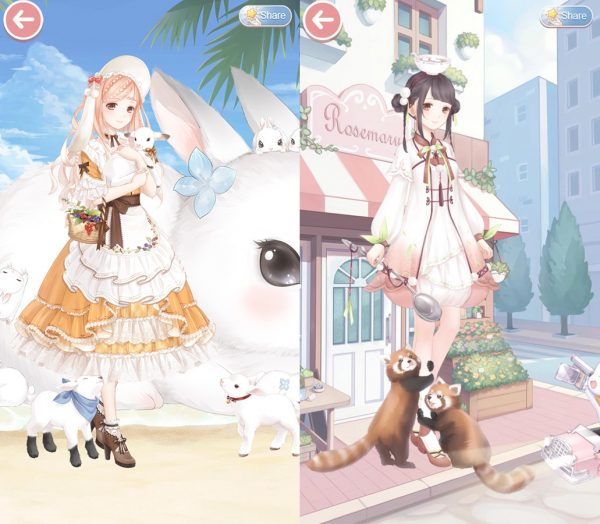 cute mobile games - Love Nikki
