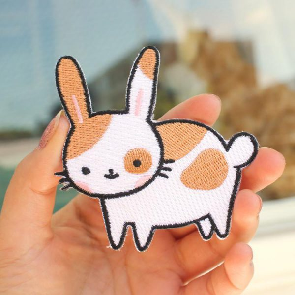 cute patch kawaii bunny rabbit