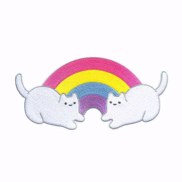 cute patch kawaii rainbow cats